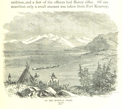 """British Library digitised image from page 511 of """"Massacres of the Mountains. A history of the Indian wars of the Far West ... Illustrated"""""""