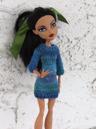 Handspun Monster High Dress