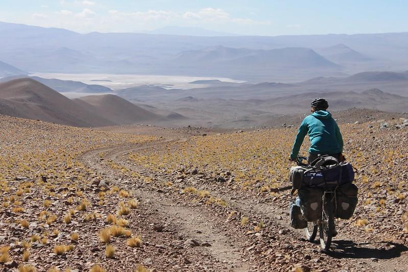 Descending to the Salina de Llullaillaco
