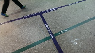 New Follow the lines at London Bridge!