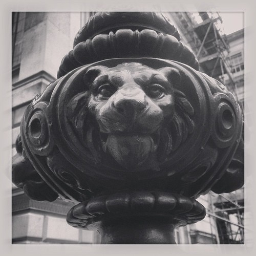 LCC Lion Tour #urban #lions #instagram #iphone5c #london #lcc #macro