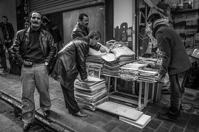 The gran bazar, Istanbul