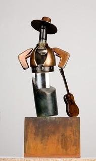 Imagen de la escultura ganadora.