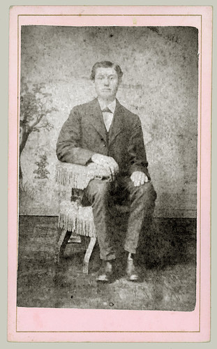CDV Man Seated