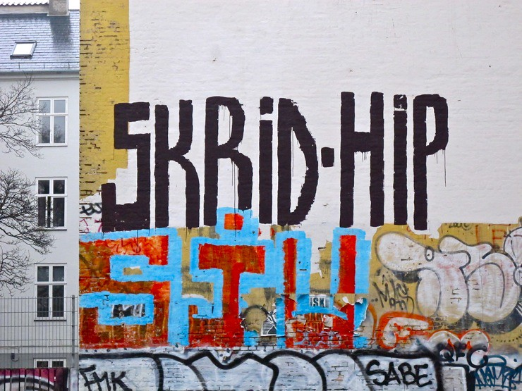 Skrid hip / Get lost hip(ster)