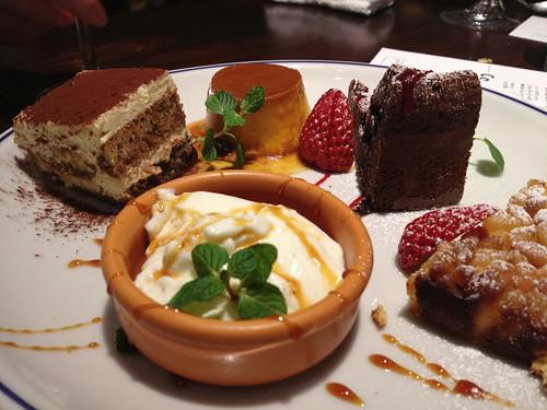 デザートの盛り合わせ@ブリアンツァ 6・1
