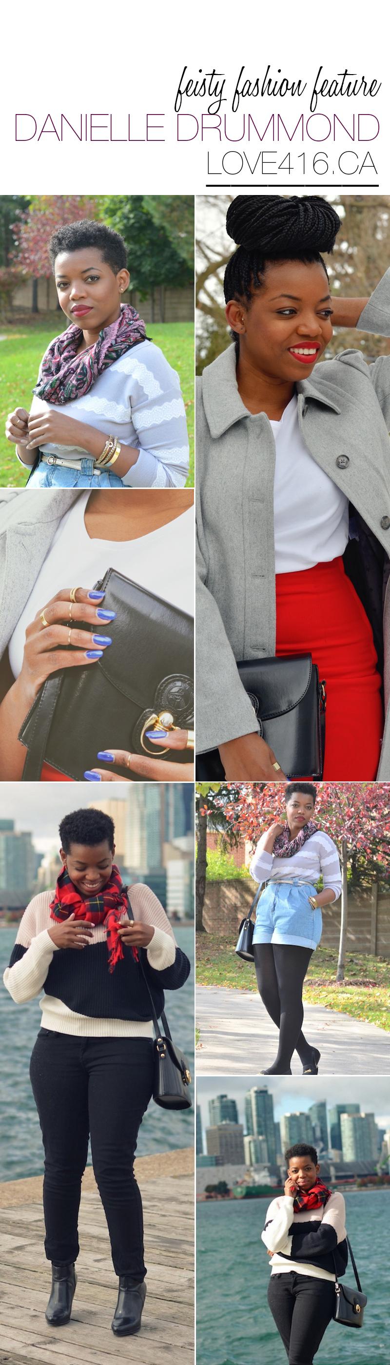 black fashion blog, black fashion blogger, black lifestyle blog, canadian blogger danielle drummond of love 416, black style blogger, feisty fashion feature