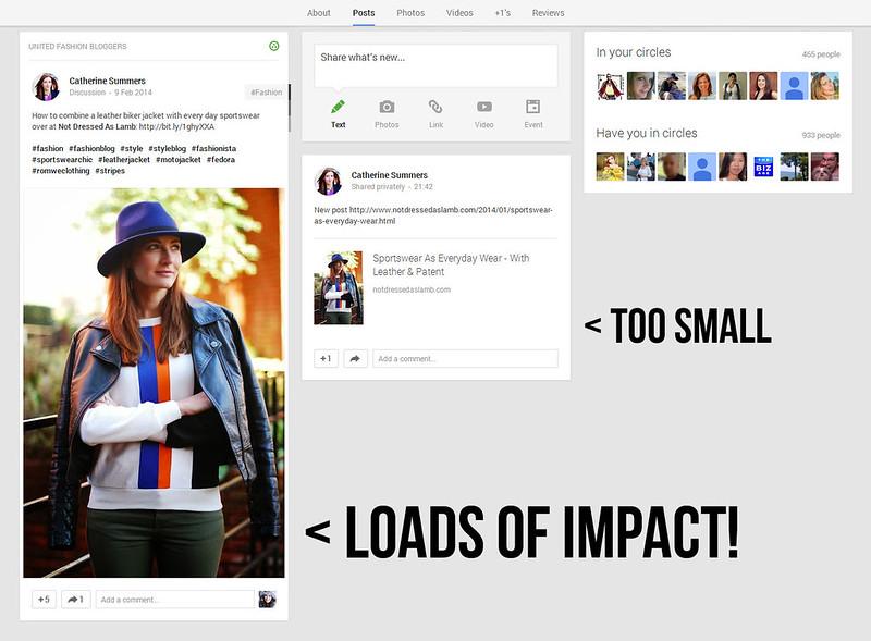 A Google+ Post That Creates Impact