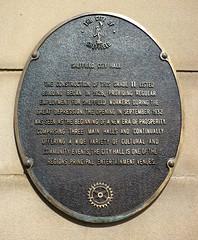 Photo of Bronze plaque number 10191