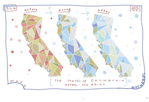The states of California after the rains by douglaswittnebel