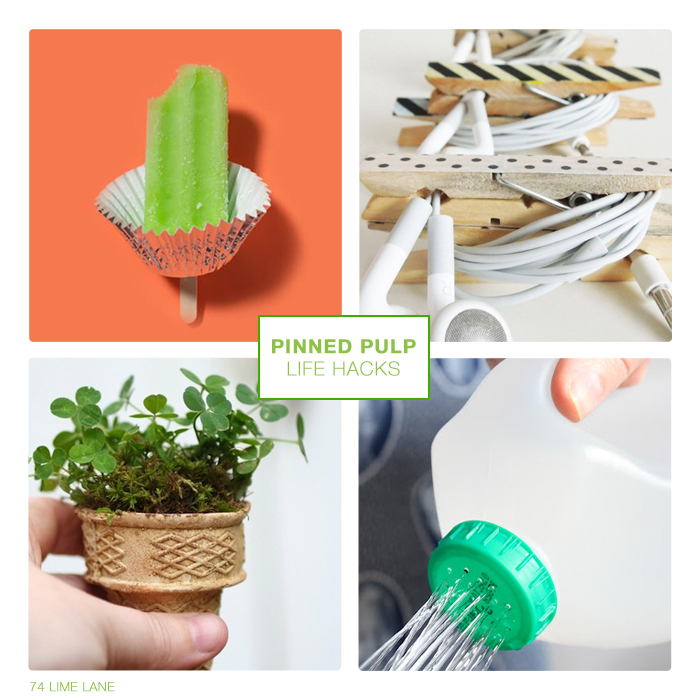 pinned pulp // lifehacks
