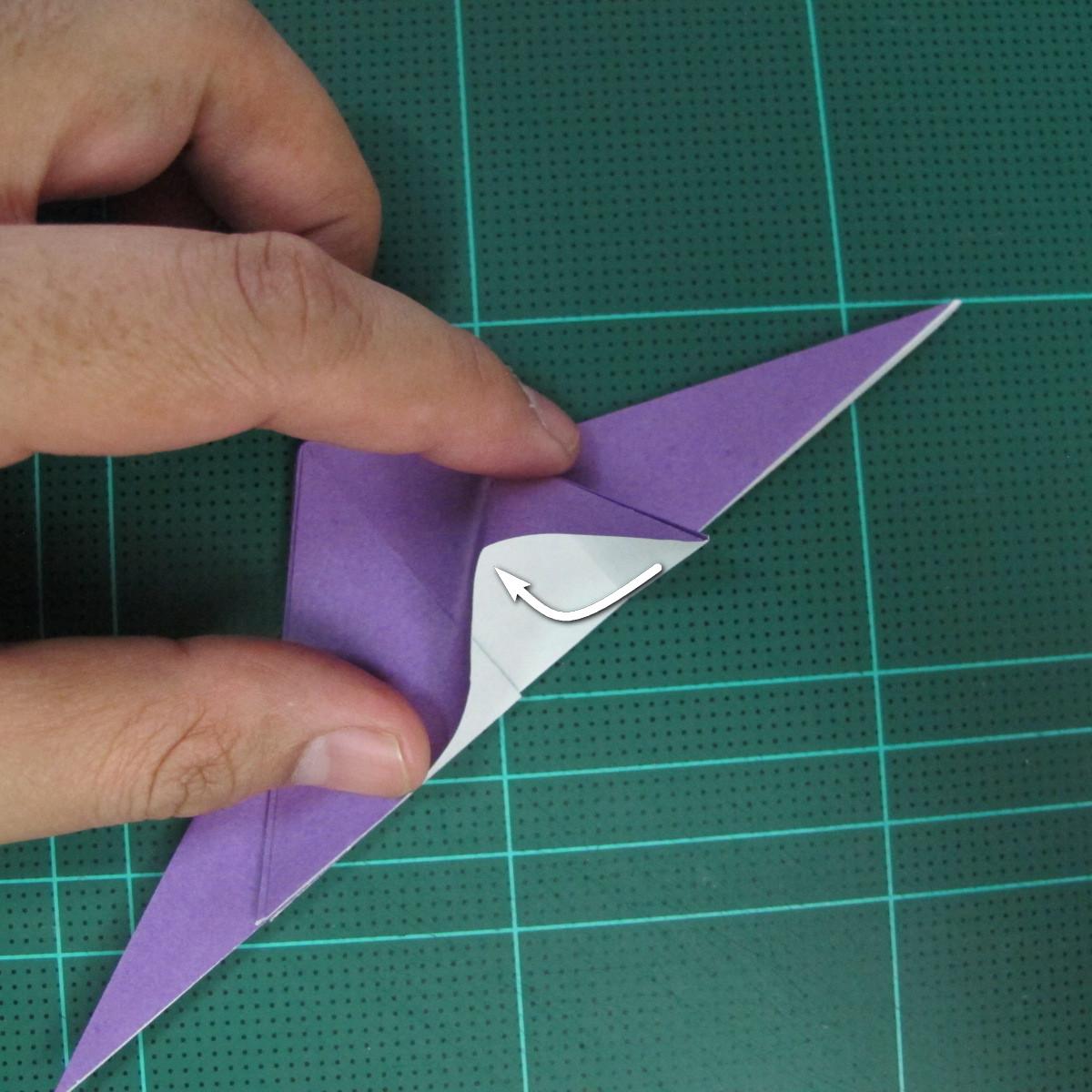 วิธีพับกระดาษเป็นรูปนกอินทรี (Origami Eagle) 005