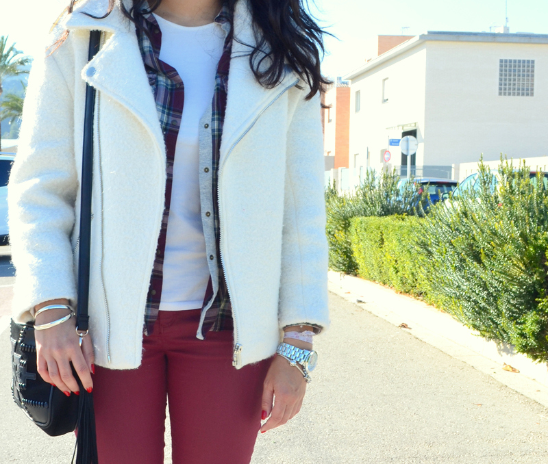 florenciablog total look burgundy inspiration burgundy look granate fieltro jacket cream jacket gandia españa bloggers (10)