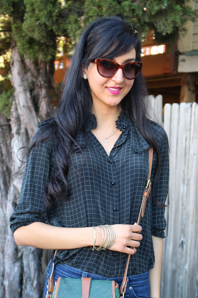 Checkered Blouse 4