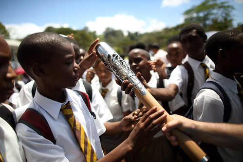 Day 163 of the The Glasgow 2014 Queen's Baton Relay in Dominica