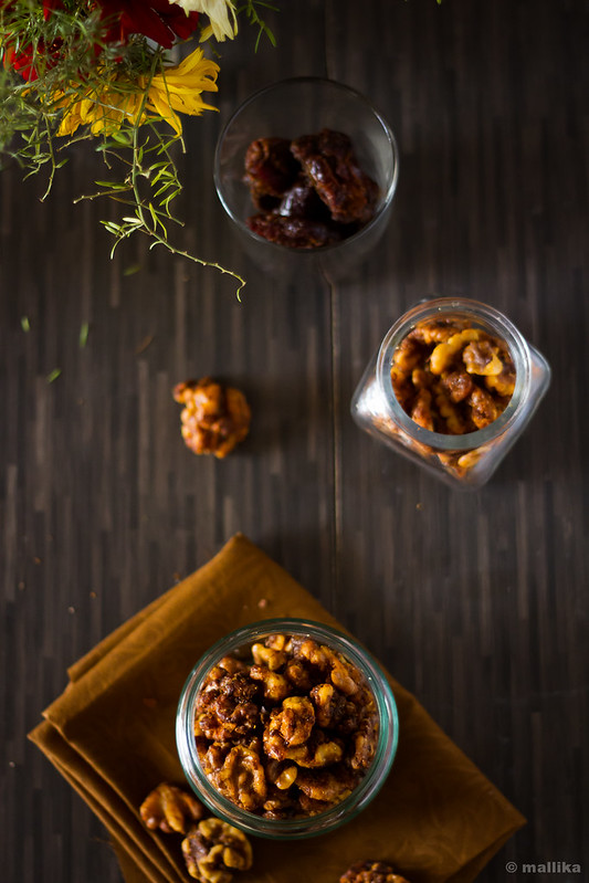 Spiced Roasted Walnuts
