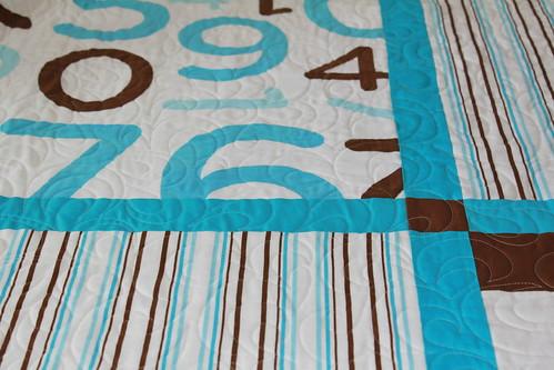 Baby bedding keepsake quilt - Pic2