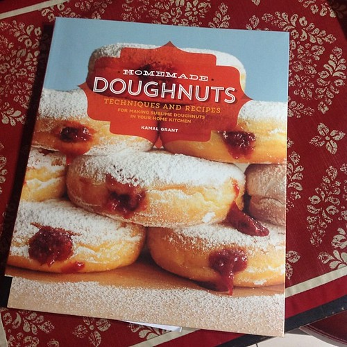 Yay! Got this #doughnut #cookbook in the mail today. #atlanta