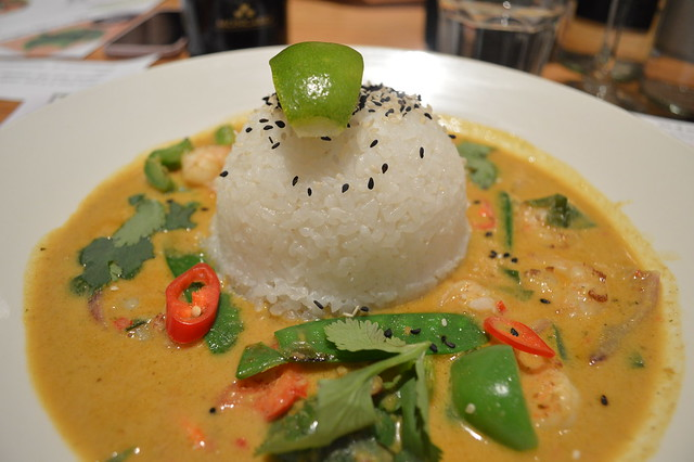 a picture of chicken raisukaree in Wagamama Cardiff