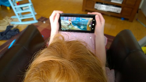 6yo with 6in screen