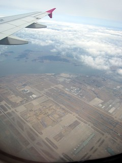 Landing at Incheon