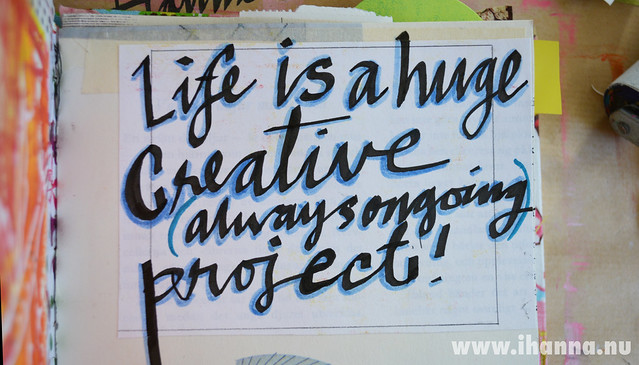 Detail: Life is a huge creative project