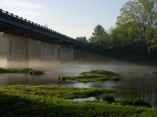 bridge sunrise arkansas