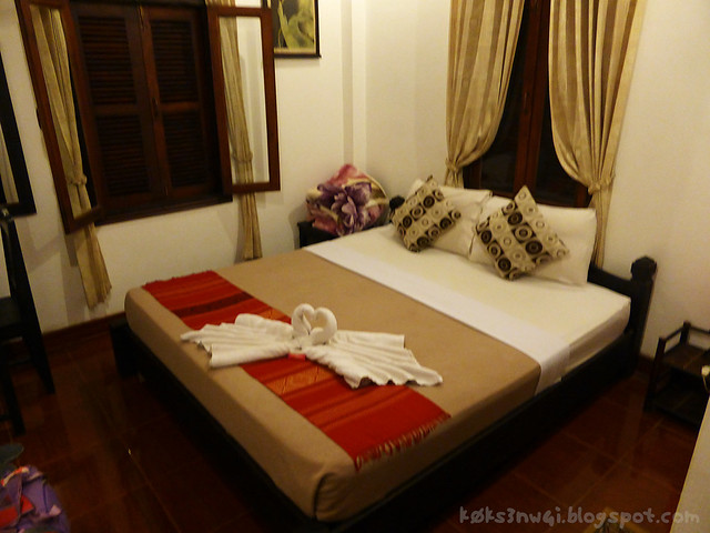 Luang Prabang Tha Heua Me Guesthouse Bed