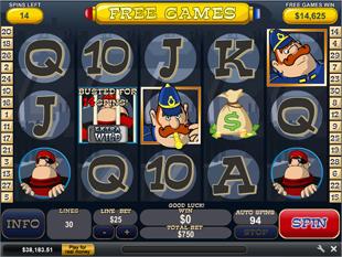 Cops and Bandits Gamble Feature