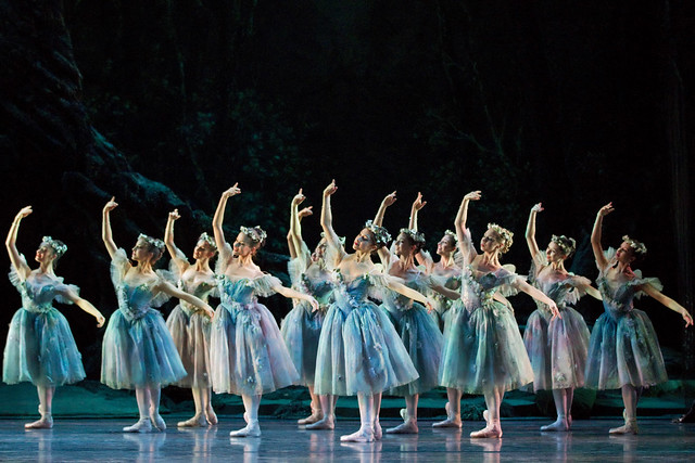 Artists of the Royal Ballet in The Dream, The Royal Ballet © ROH / Johan Persson