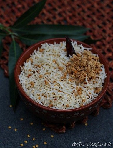 Andhra recipe -Musk Melon Seed Rice
