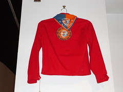 50-year old Boy Scout World's Fair jacket at Queens Museum