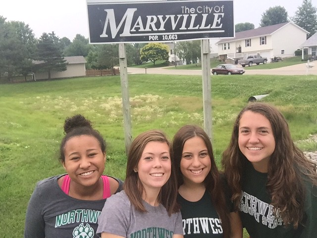 Forever green visiting Maryville!