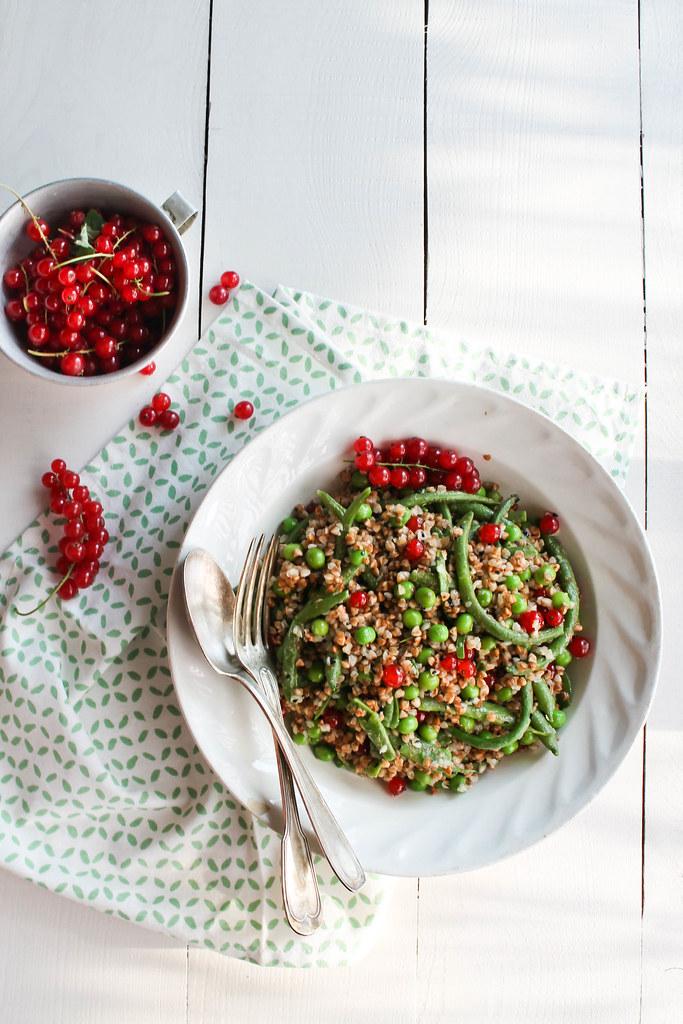 Salade de haricots verts recette