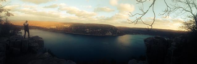 Devils Lake Panorama