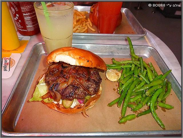 אמריקה , בשר בלחמנייה