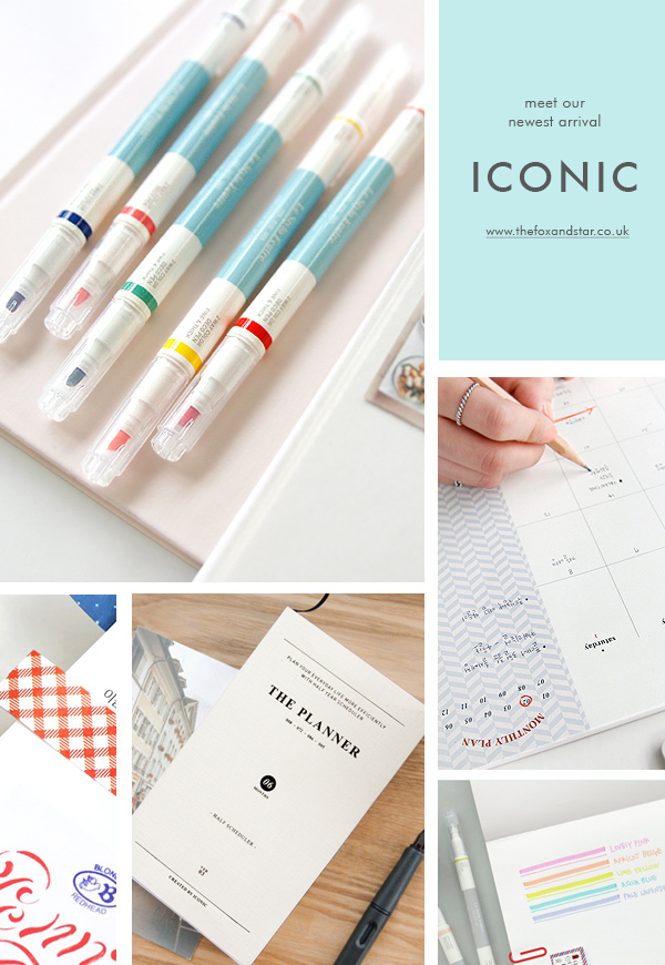 iconic stationery uk
