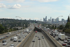 I-5 southbound from NE 45th Street