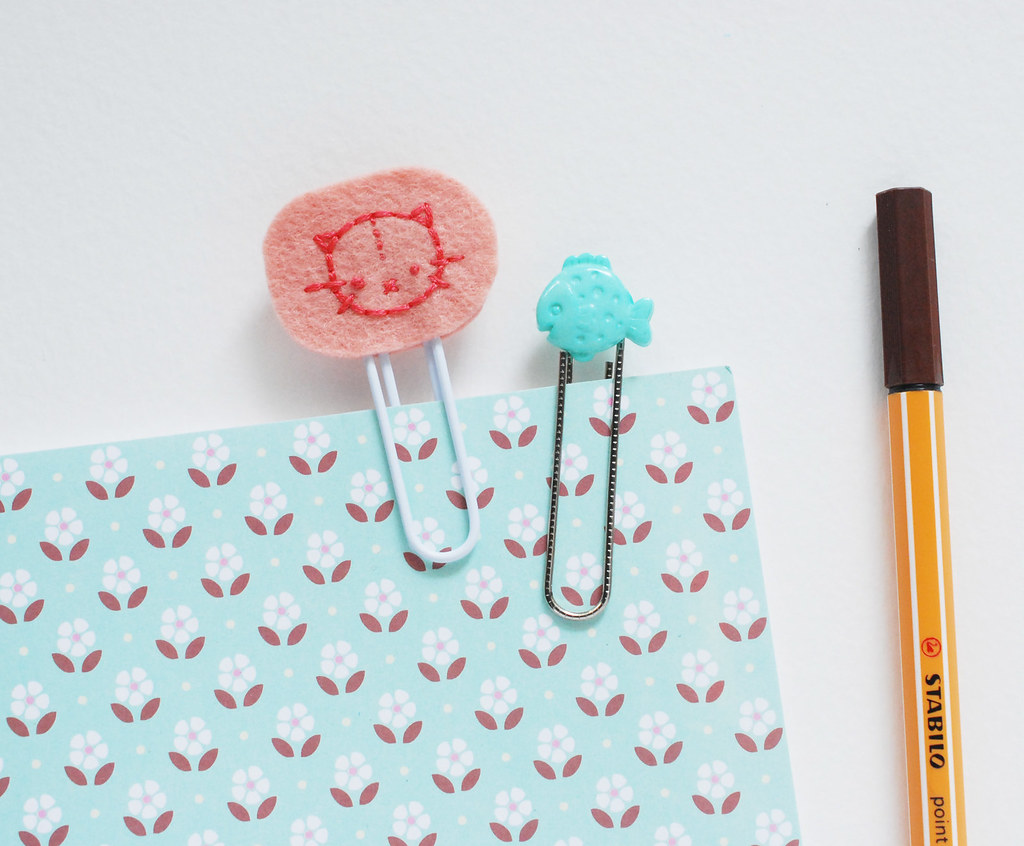 Stitched Planner Clips