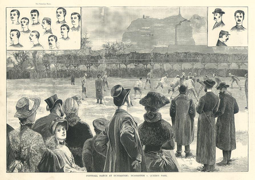 Dumbarton_Queens_Park_match_Pictorial_World_March_1883