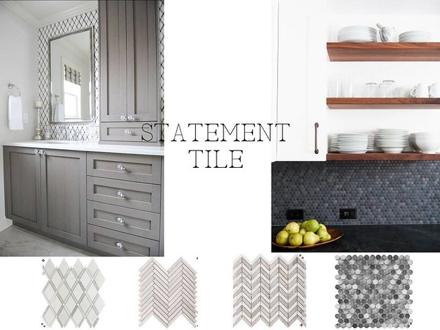 statement tile
