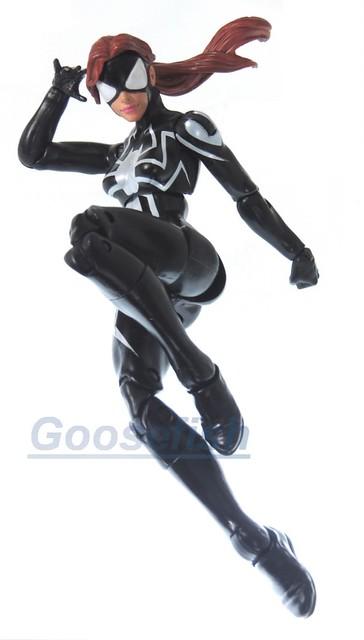 【玩具人Goosefish投稿】MARVEL LEGEND 蜘蛛人電光之戰系列 6吋SPIDER-GIRL可動改造分享