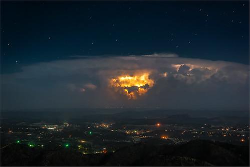 gewitter landscape lightning lincolncounty newmexico nightsky stephandphotography2016 thunderstorm usa
