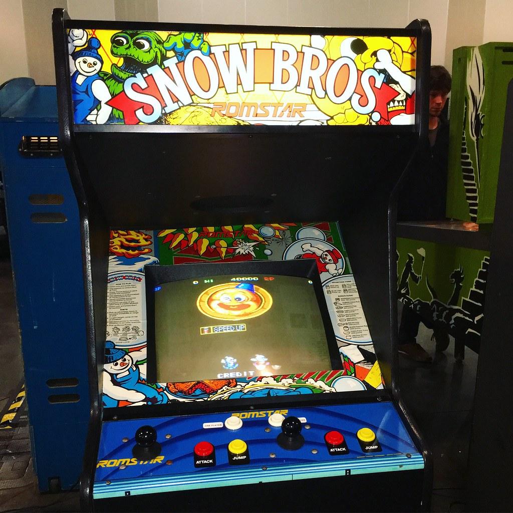 Resultado de imagen para snow bros arcade