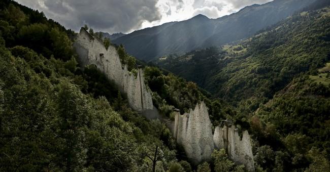 Val d'Hérens – kamenné pyramidy Euseigne
