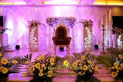 Decorations in Hotel Adithi Pondicherry