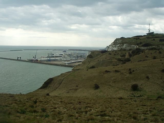 View back to Dover
