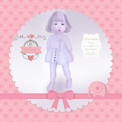 {Toola Loola} Mia TD Baby Shape - Bento Mesh Head Alice
