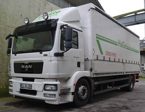 MAN TGM 18.290 - HaGe Logistik Kiel - D KI BL 158