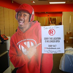 According to @nickcannon our @Radioshack is officially closed for business! #Radioshack #endofanera #80s #theswitt